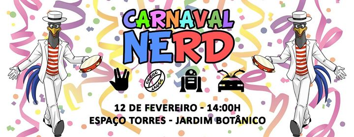 Carnaval Nerd Curitiba - 2018