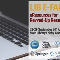 Lib E-Fair 2017 eResources for Revved-Up Research