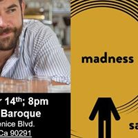 sam sax reads Madness at Beyond Baroque