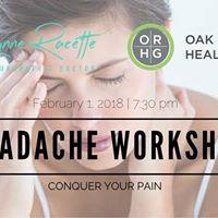 Headache &amp Migraine Workshop