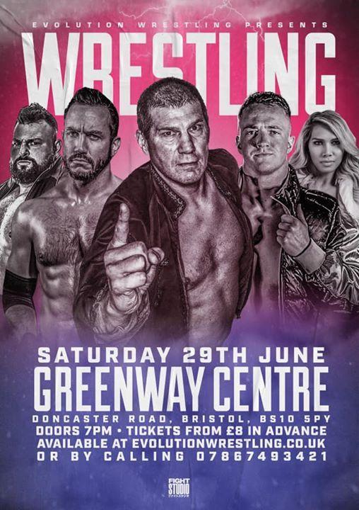 Evolution Wrestling Greenway Centre