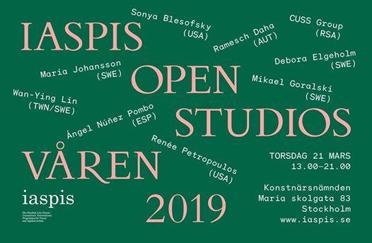 Iaspis Open Studios Spring 2019