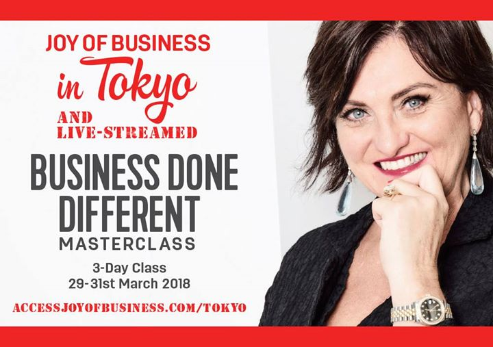 Business Done Different Master Class Tokyo with Simone Milasas