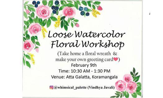 Loose Watercolor Floral Workshop