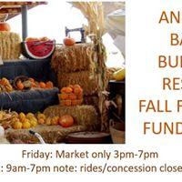 BBR Fall Festival Fundraiser RidesFood 9-4 Market 9-7