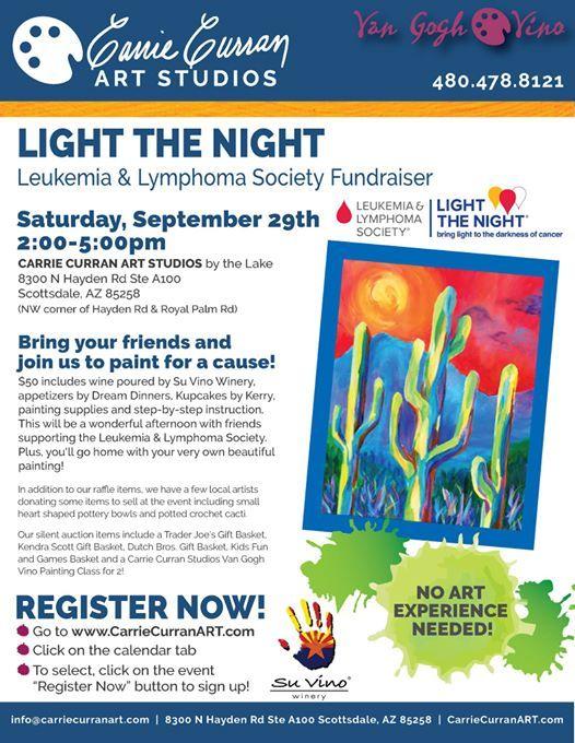 Light The Night Lls Fundraiser At 8300 N Hayden Rd Ste A100