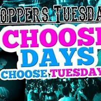 Choosedays at Coppers Tuesdays - Use App for Guestlist