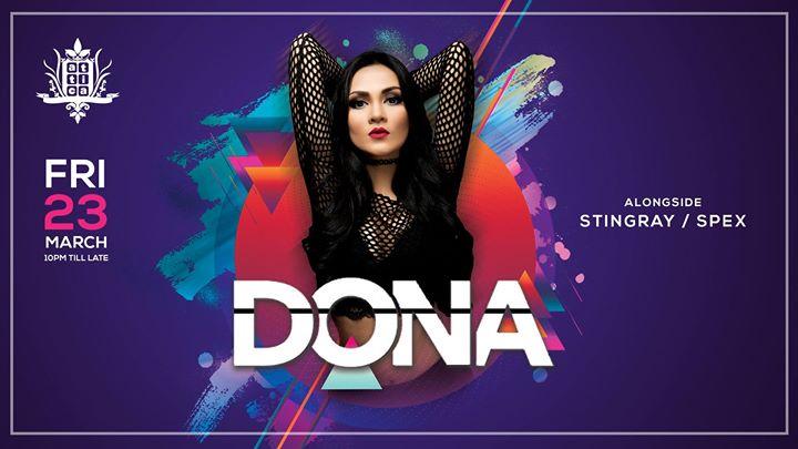 Attica Presents Dona Friday 23rd March 2018