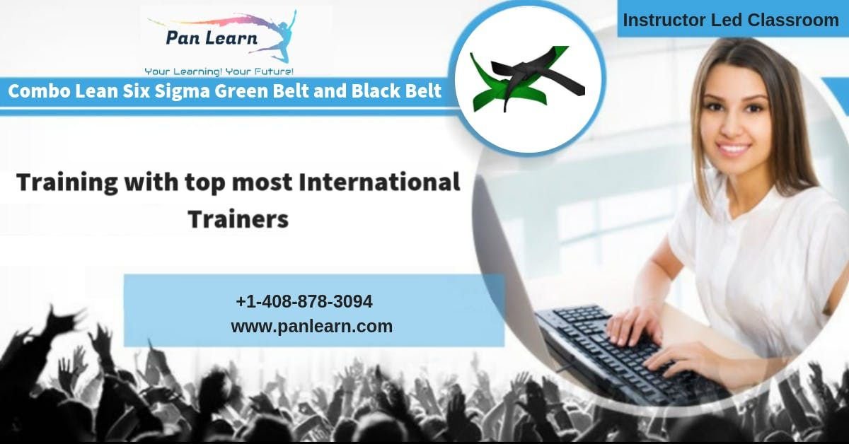 Combo Six Sigma Green Belt (LSSGB) and Black Belt (LSSBB) Classroom Training In Columbia SC