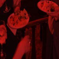 Dinner with Maestro Meena before Rigoletto