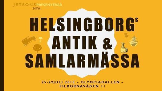 Helsingborg Antik & Samlarmarknad 25-29Juli