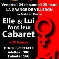 Soire cabaret Festival laigle en scne