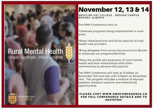 Rural Mental Health Conference
