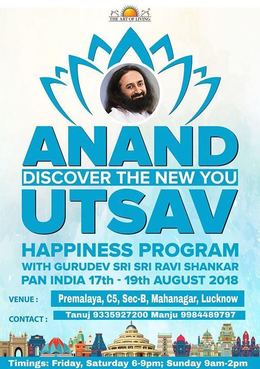 Anand Utsav Art of Living Happiness Program