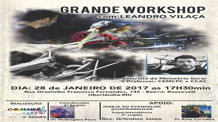 Workshop com Leandro Vilaa