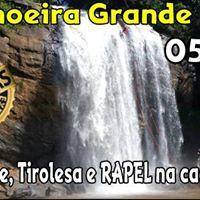 RAPEL na cachoeira e Tirolesa de 200 metros