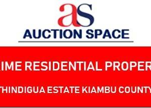 Prime Residential Property - Thindigua Estate Kiambu County