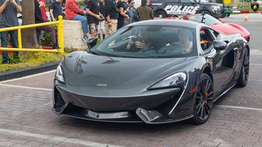 Lamborghini Newport Car Show