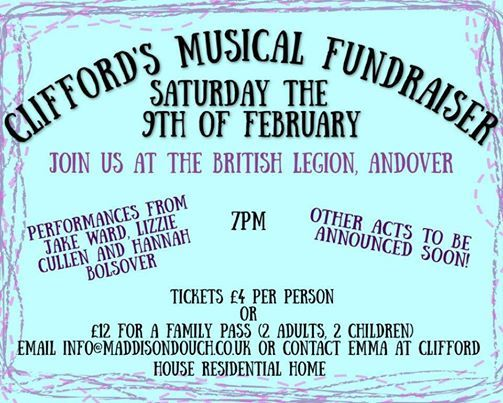 Cliffords Musical Fundraiser