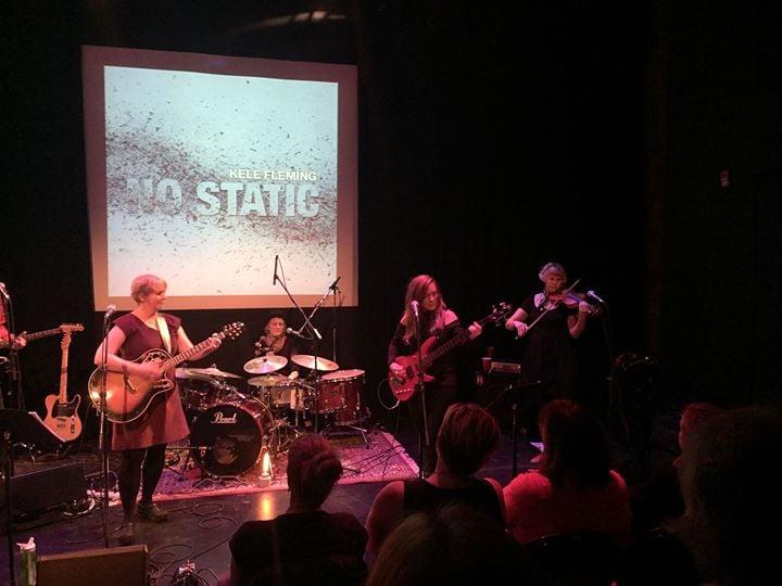 Kele fleming Lara Kroeker and Will Gillespie in Concert