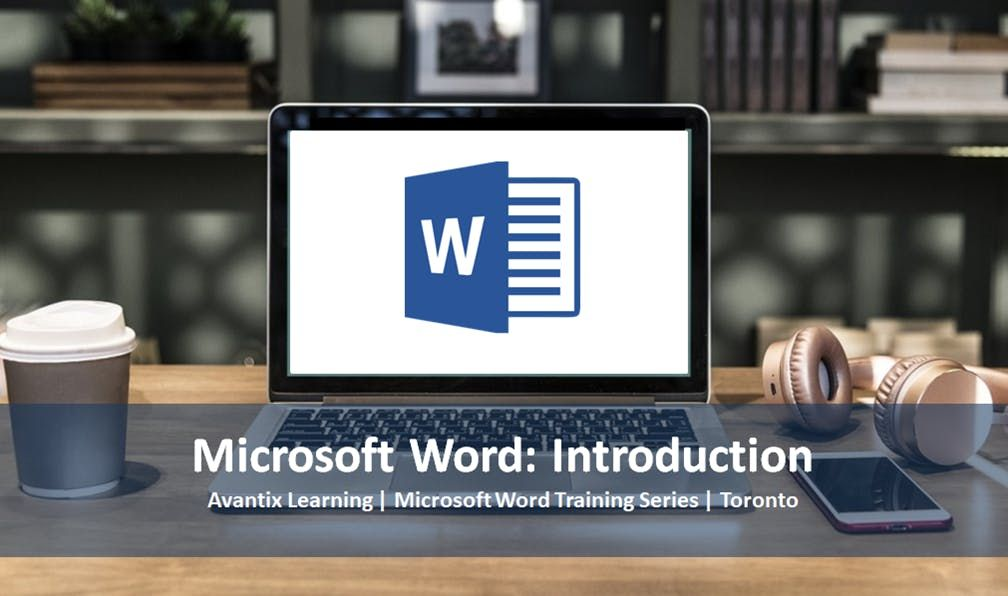 Microsoft Word Training Course Toronto (Introduction)
