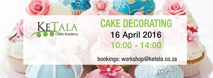 Cake Decorating Class at KeTala Chefs Academy, Pretoria