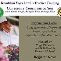 Kundalini Yoga Level 2 Teacher Training Conscious Communication