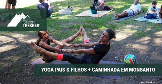 Yoga Pais&Filhos  caminhada em Monsanto