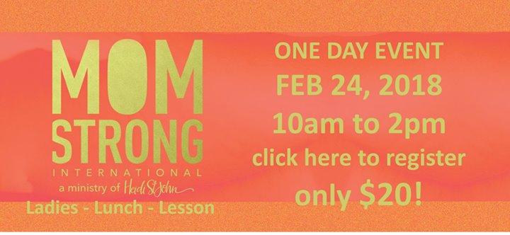One Day Ladies Event featuring Heidi St John