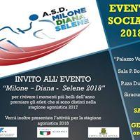 Evento Milone Diana Selene 2018