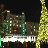 Hotel Galvez Tree Lighting