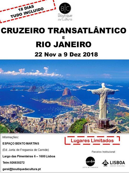 eb9bbf46df Cruzeiro Transatlântico e Rio de Janeiro at Boutique da Cultura