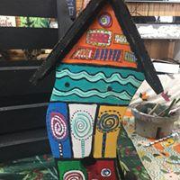 Kid Workshop- HUnderWasser Birdhouses