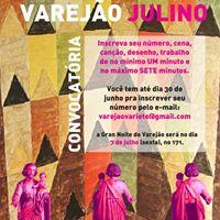 Convocatria Varejo Julino Barroco Mineiros em Frias