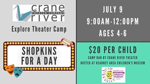 Shopkins for a Day - Explore Theater Camp