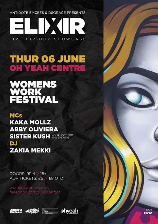 Elixir at Womens Work Festival 2019