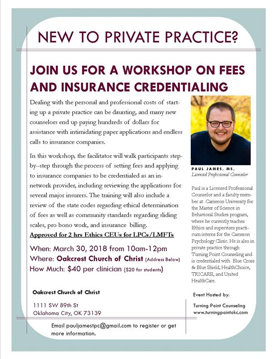 Cutting Through the Red Tape Fees & Insurance Credentialing for MHPs