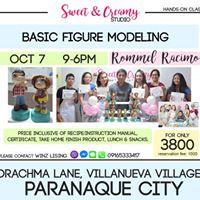 Paraaque Basic Figure Modeling Workshop