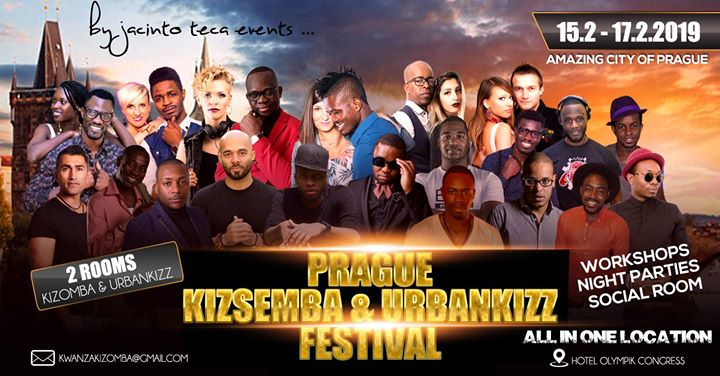 Prague KizSemba & UrbanKizz Festival 2019 official