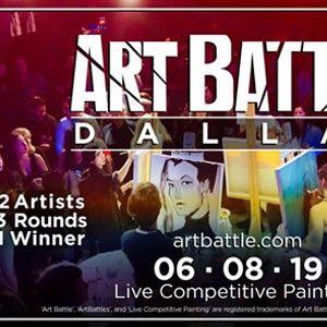 Art Battle Dallas - June 8 2019