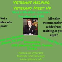 Militaryveterans connect and provide support for each other