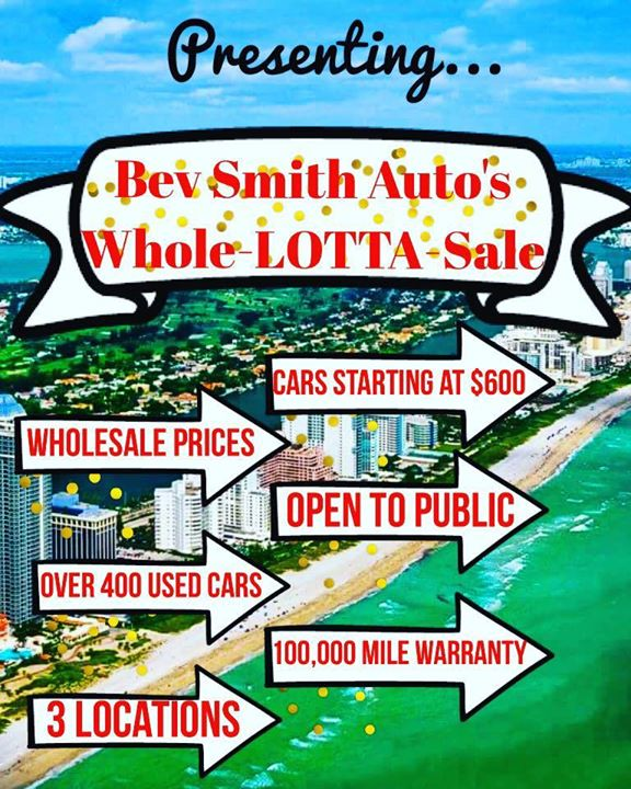 Whole Lotta Sale At Bev Smith Kia Fort Pierce Fort Pierce