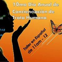 Taller Espaol 10mo Da Anual de Concienciacin de Trata Humana