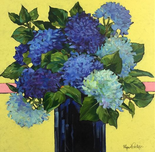 Bright Flower Impressions in Acrylics with Mignon Parker