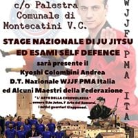 Stage Nazionale di Ju Jitsu ed Esami Self Defence 1 livello
