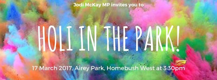 Holi In The Park