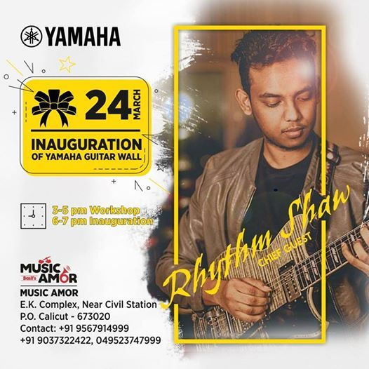 Yamaha Guitar Wall Inaugration & Workshop