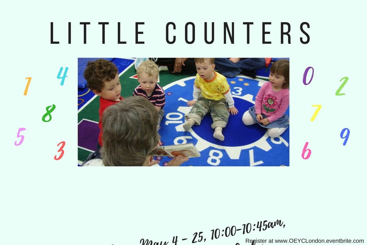 Little Counters - French & English Edition