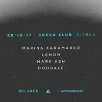 Balance wMarina Karamarko at Crkva Rijeka 28.10.2017