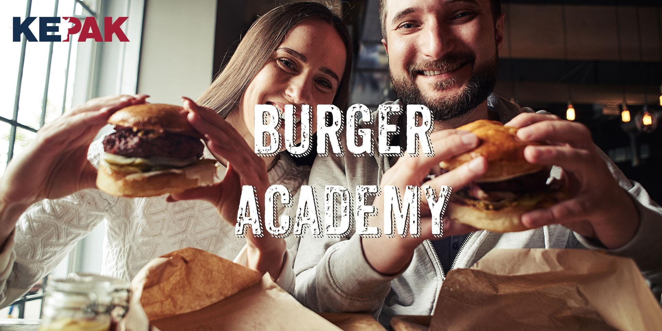 Burger Academy Take Your Burger-Building Skills to The Next Level